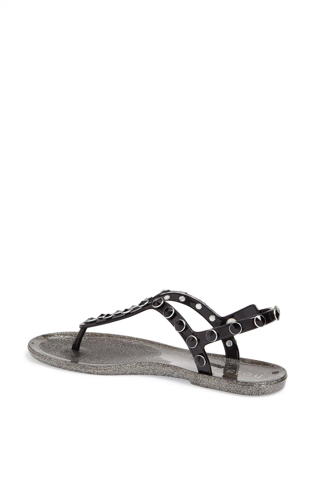 Alternate Image 2  - Holster Fashion 'Supermodel' Jelly Thong Sandal