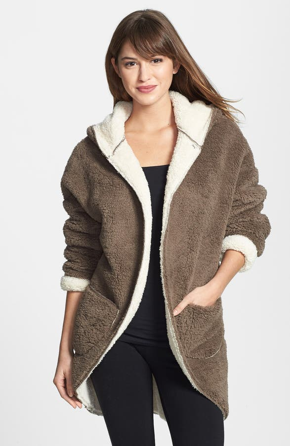 PJ Salvage 'Cozy' Hooded Cardigan | Nordstrom
