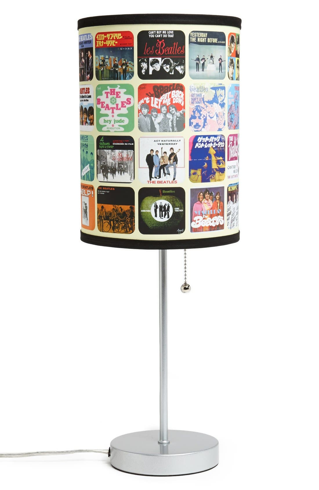 Alternate Image 1 Selected - LAMP-IN-A-BOX 'The Beatles - Singles Covers' Table Lamp