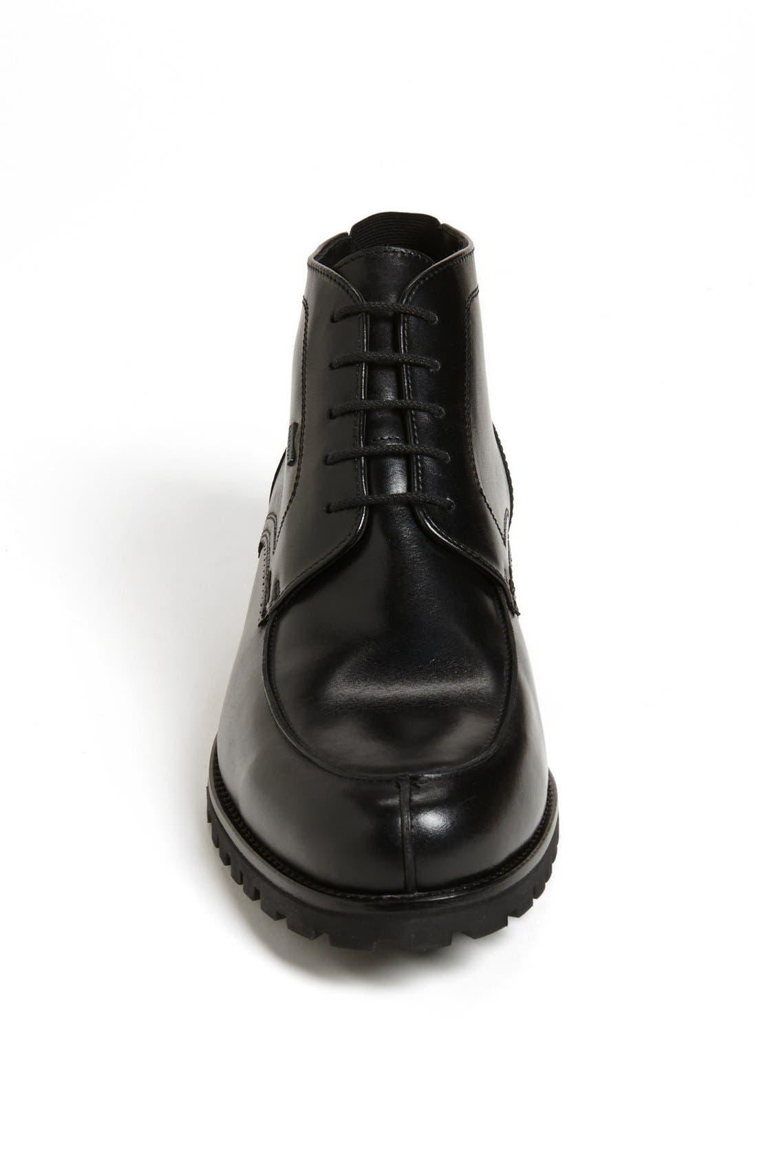 'Varello' Chukka Boot,                             Alternate thumbnail 3, color,                             Black