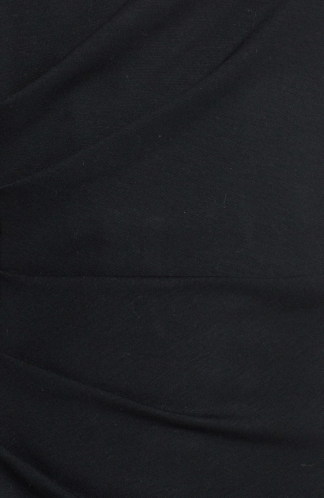 Alternate Image 3  - Milly 'Tucked' Jersey Sheath Dress