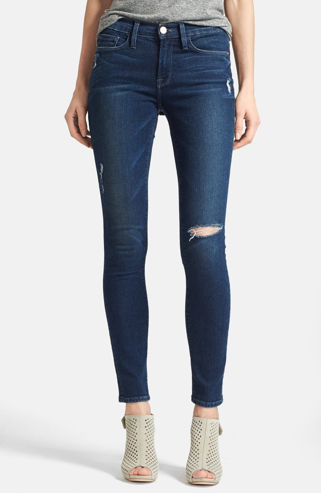 Main Image - Frame Denim 'Le Skinny de Jeanne' Jeans (Runyon Canyon)