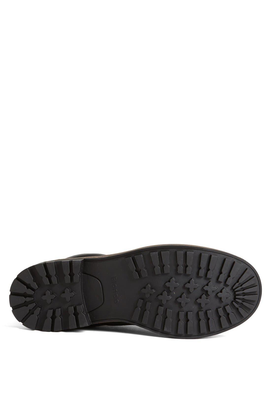 'Jaro' Waterproof Boot,                             Alternate thumbnail 4, color,                             Black