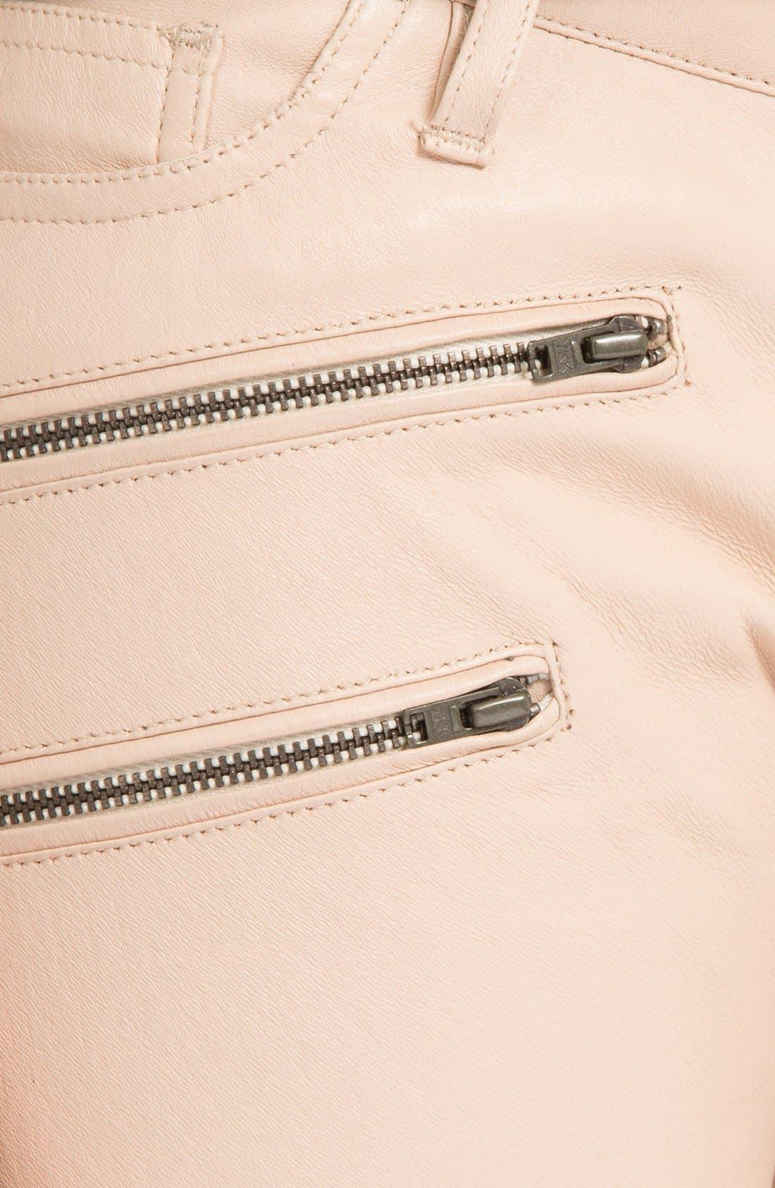 Alternate Image 3  - maje 'Daft' Leather Pants