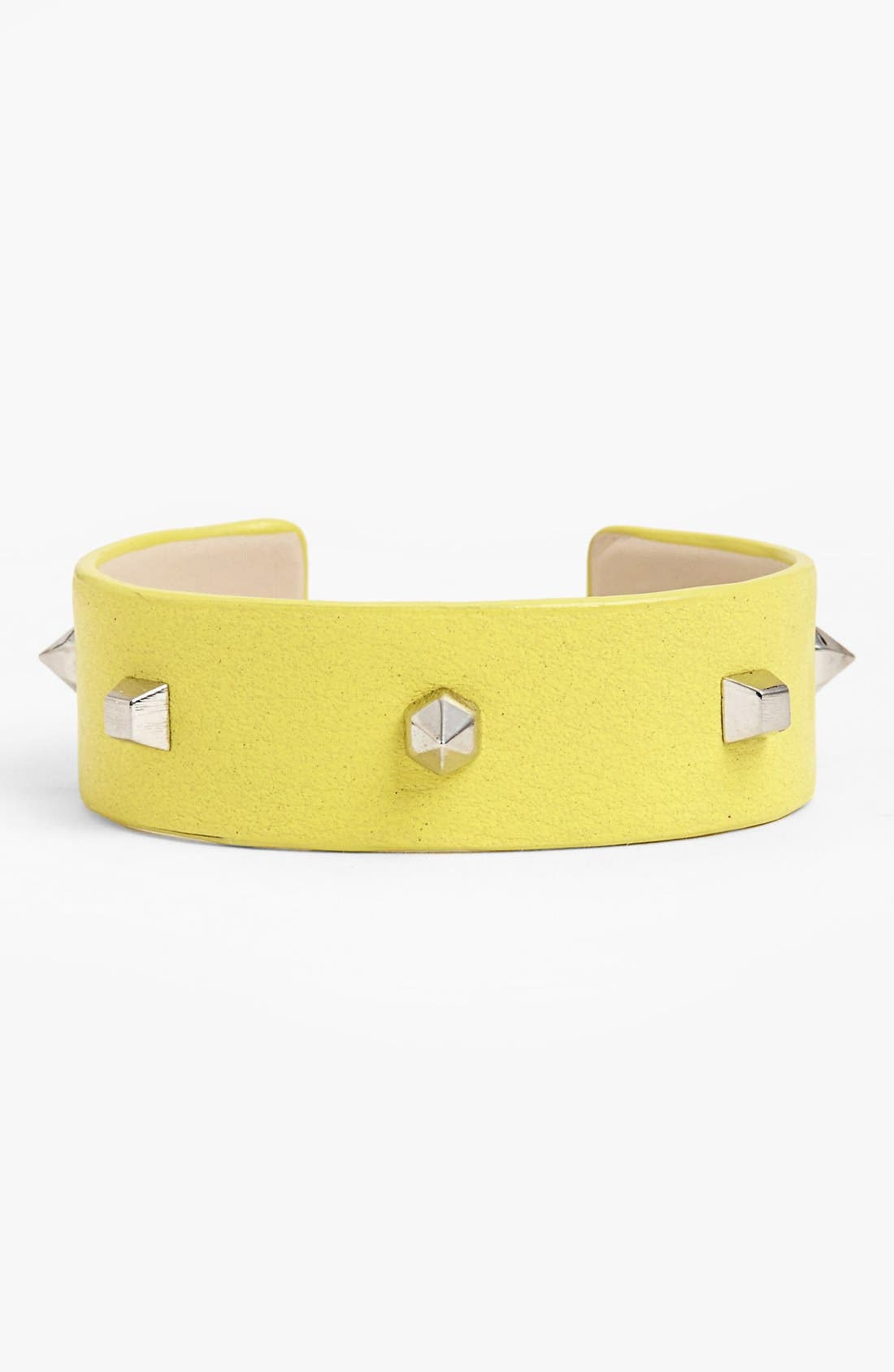 Alternate Image 1 Selected - Vince Camuto Studded Leather Cuff