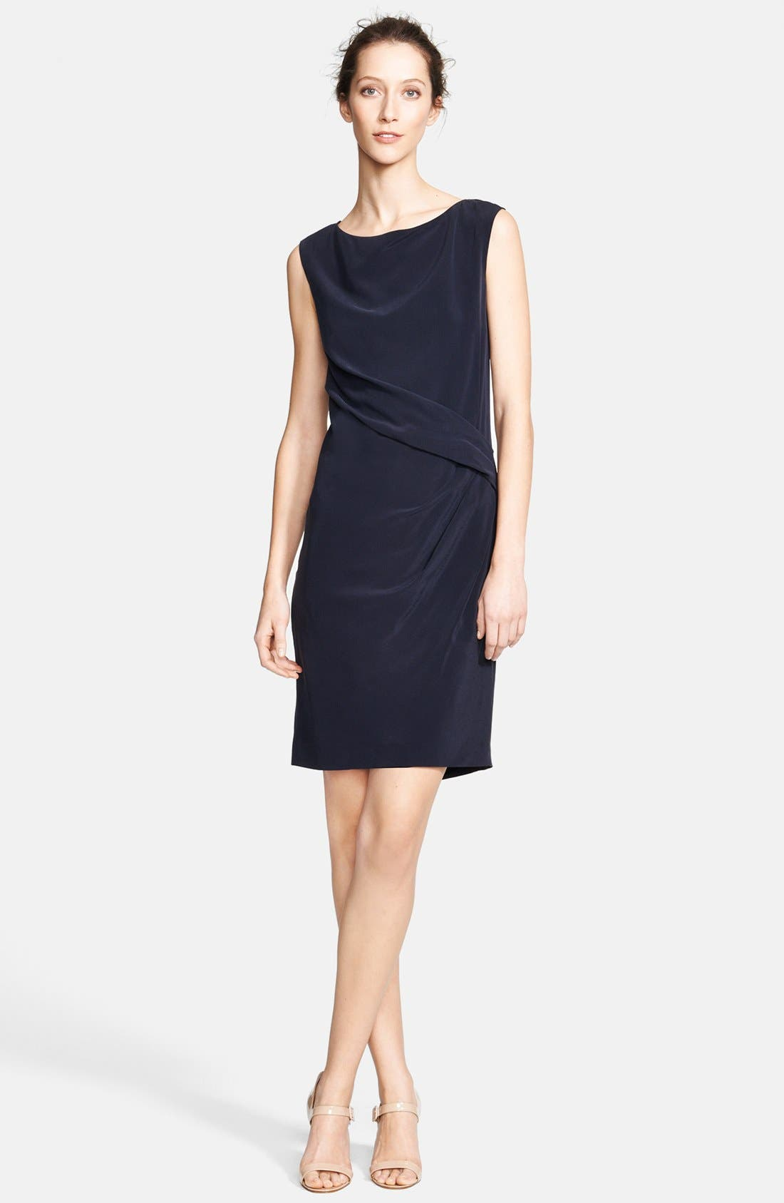 Main Image - Max Mara Silk Dress & Accessories