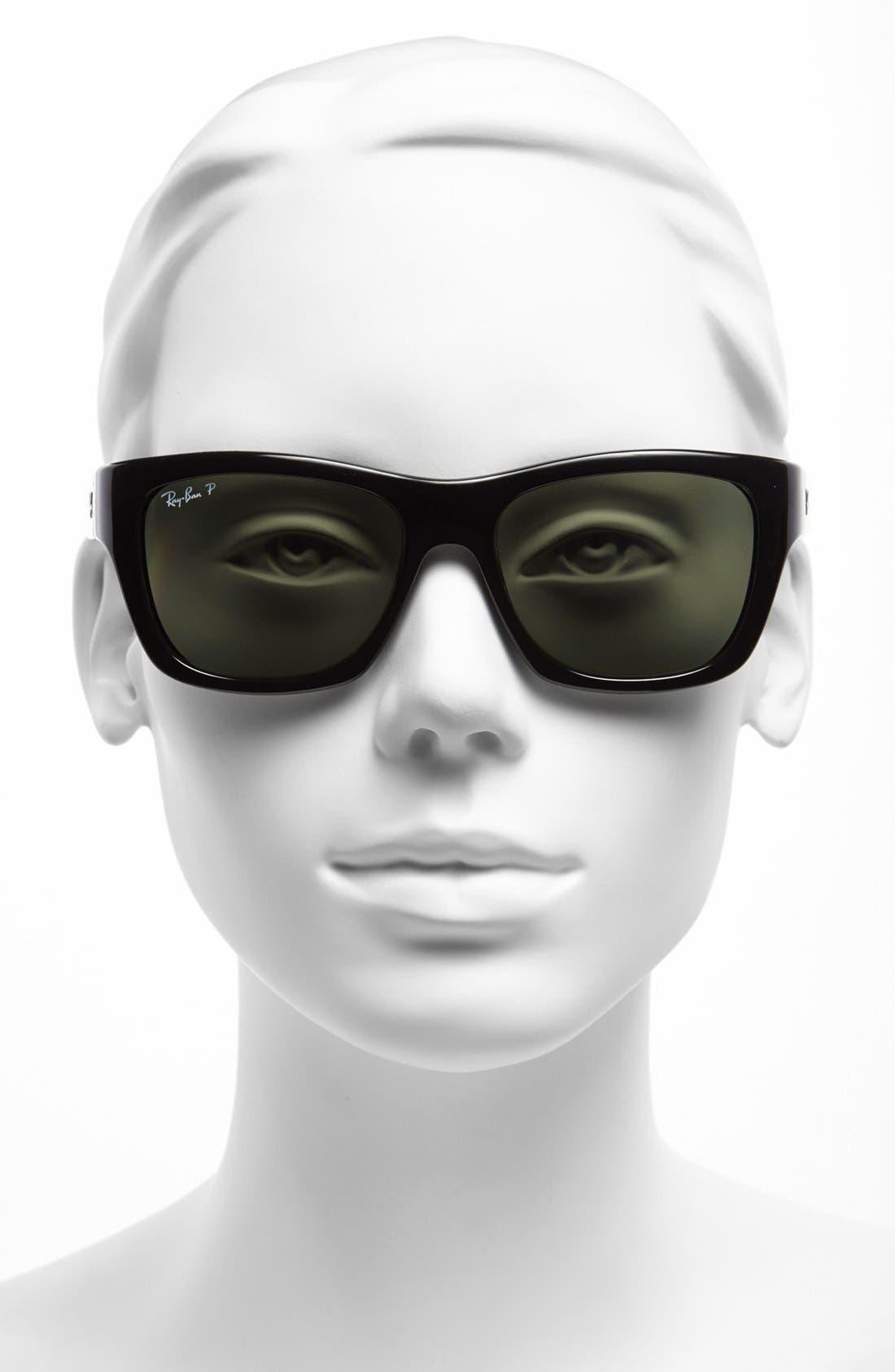 Alternate Image 2  - Ray-Ban 'Square Glam' 53mm Polarized Sunglasses