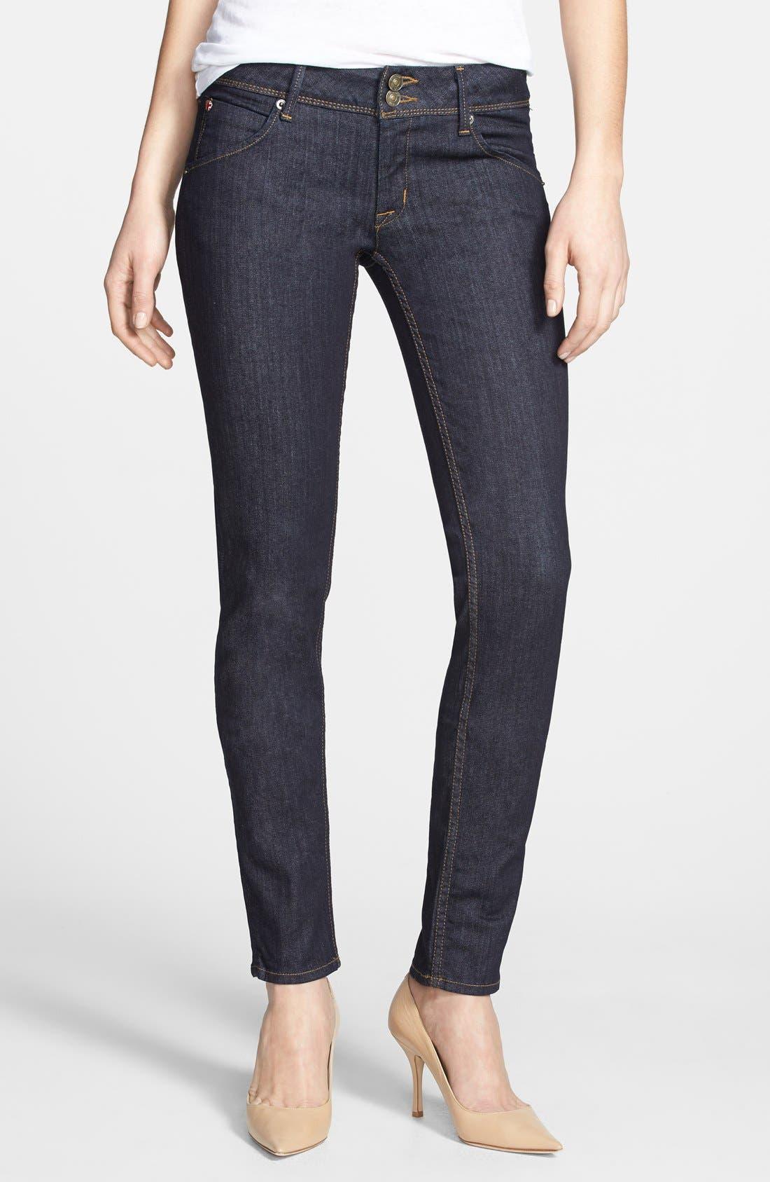 Alternate Image 1 Selected - Hudson Jeans 'Collin' Skinny Jeans (Foley)