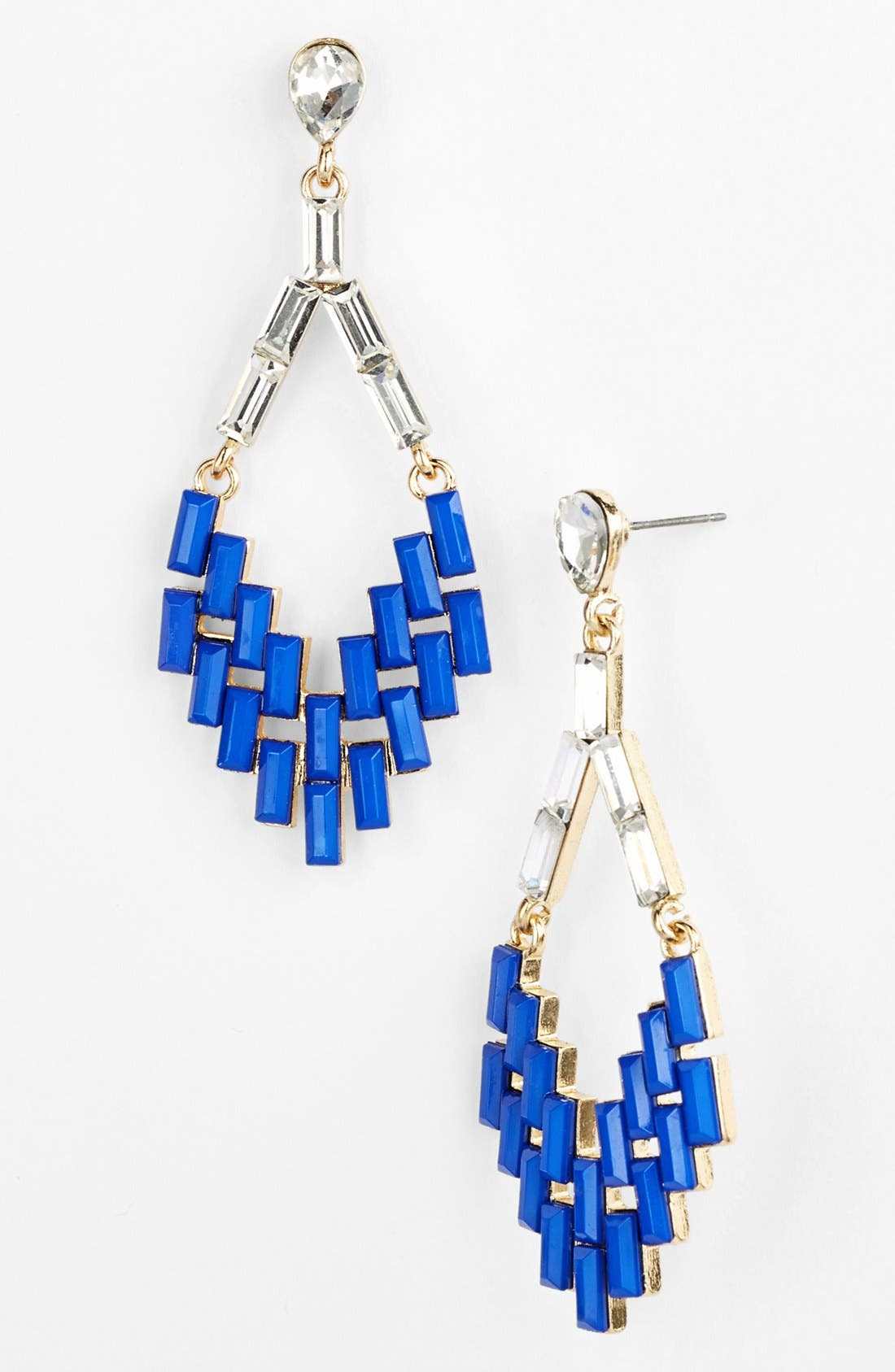 Alternate Image 1 Selected - Cara Couture Chandelier Earrings
