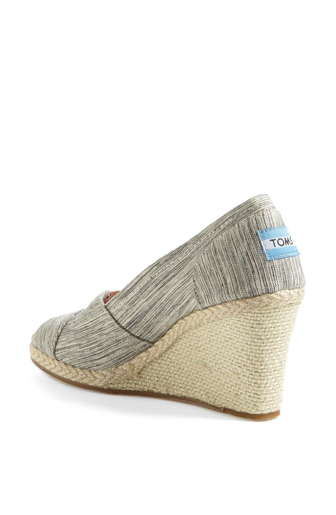 Alternate Image 2  - TOMS Space Dyed Wedge (Women)