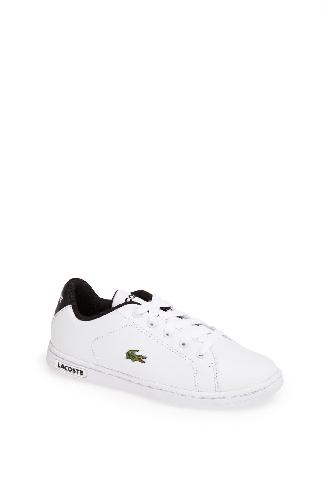 Alternate Image 1 Selected - Lacoste 'Carnaby' Sneaker (Baby, Walker, Toddler, Little Kid & Big Kid)