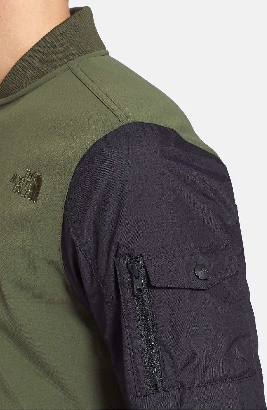 Alternate Image 4  - The North Face 'Amos' Waterproof Bomber Jacket