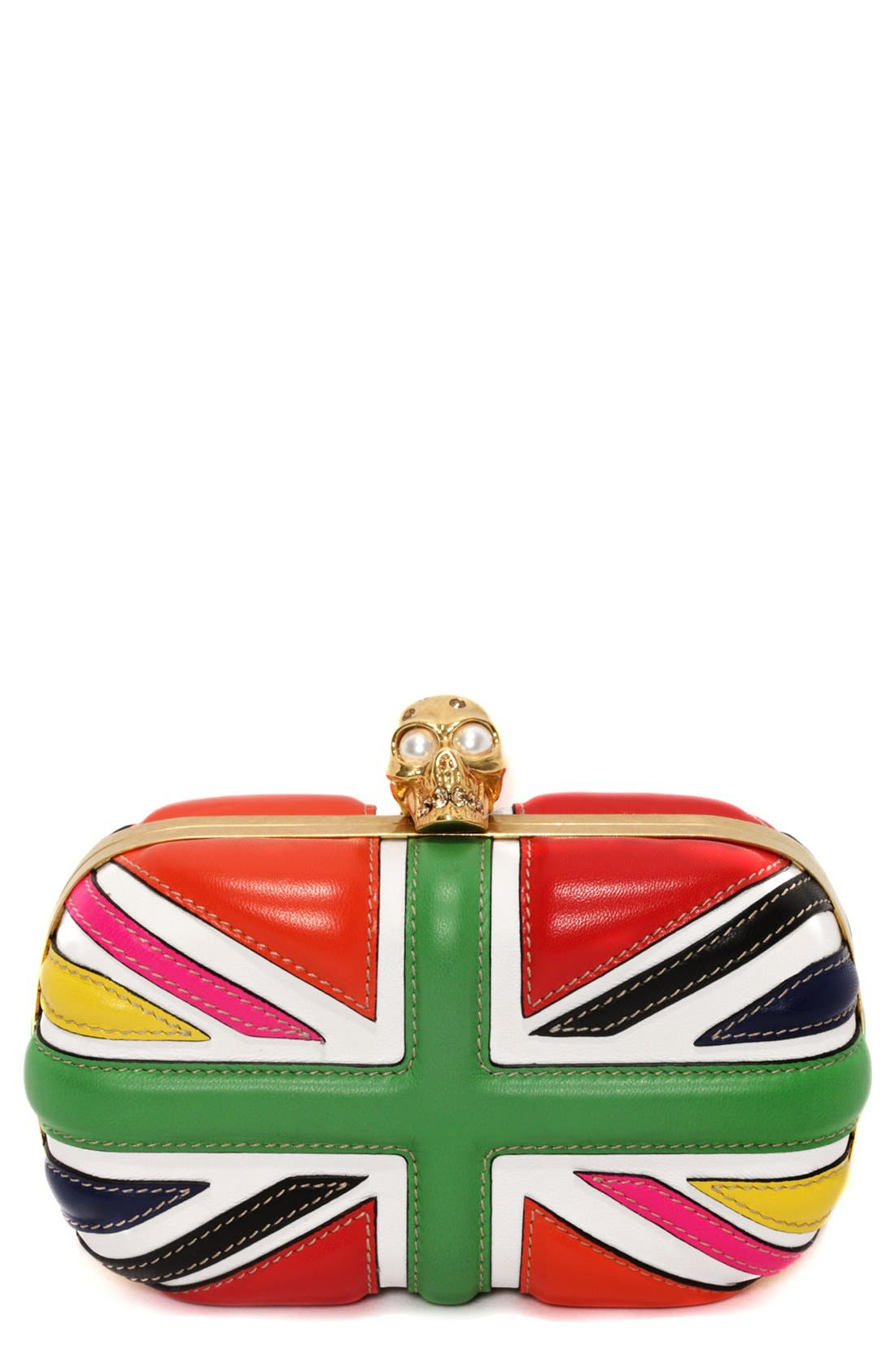 Alternate Image 1 Selected - Alexander McQueen 'Britannia' Clutch