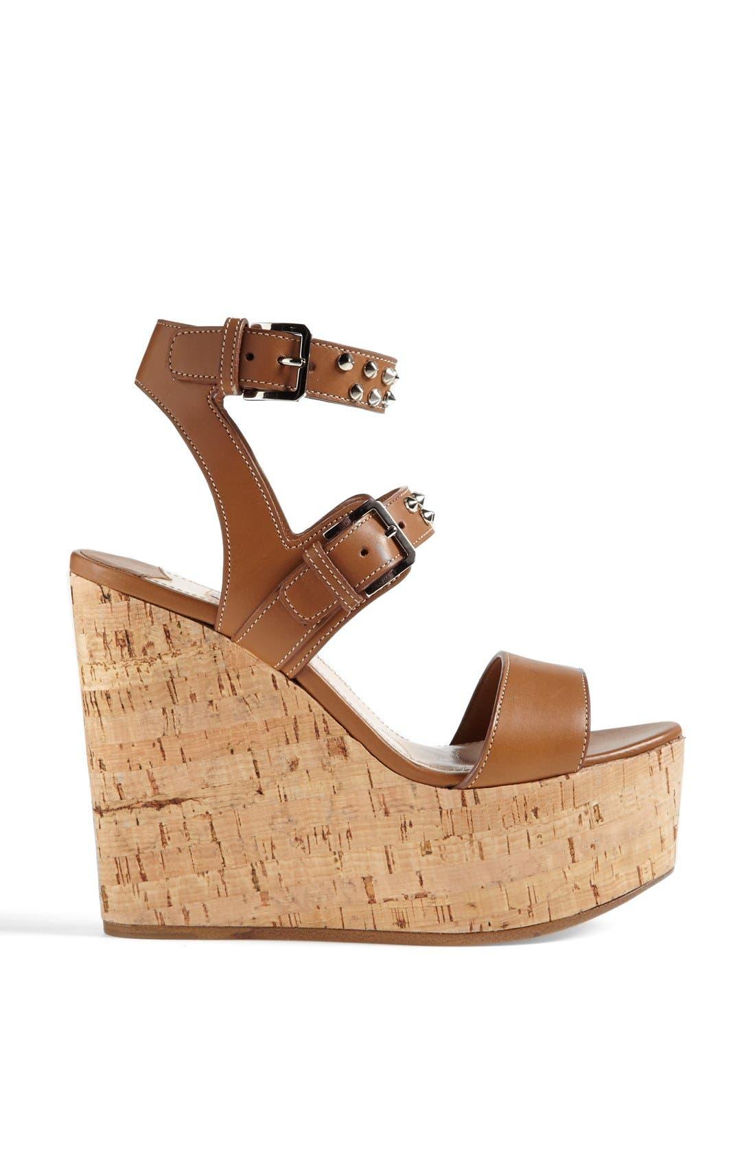 Alternate Image 4  - Miu Miu Studded Wedge Sandal