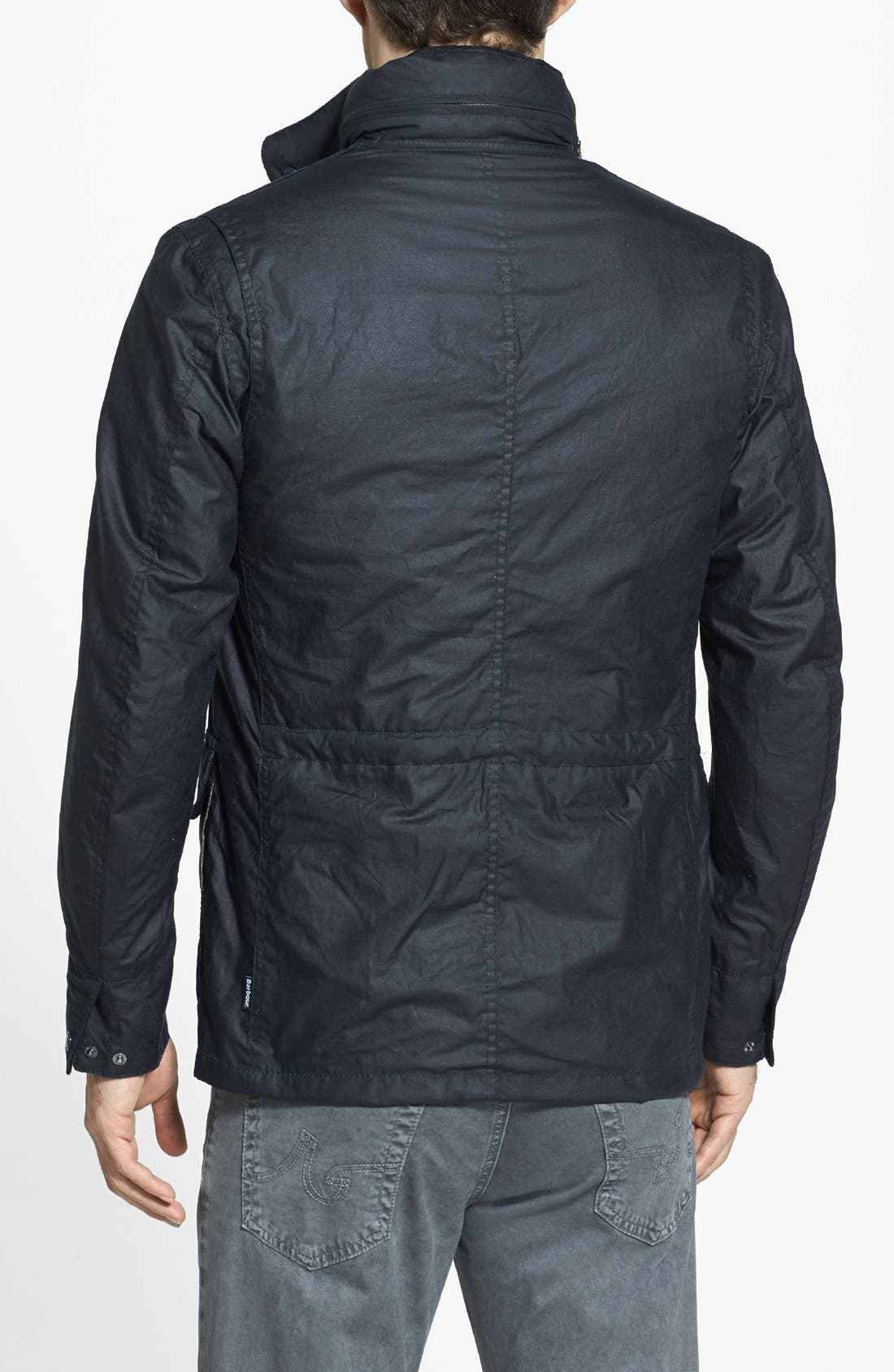Alternate Image 2  - Barbour 'Sapper' Tailored Fit Weatherproof Waxed Jacket