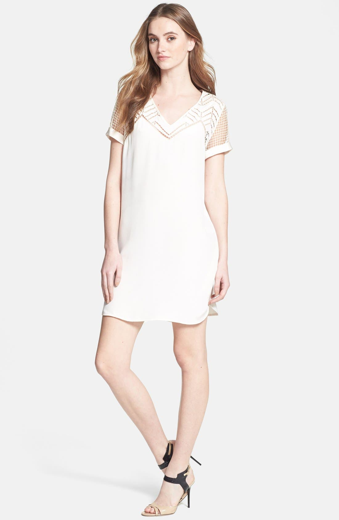 Main Image - Rebecca Minkoff 'Lorelei' Silk Shift Dress