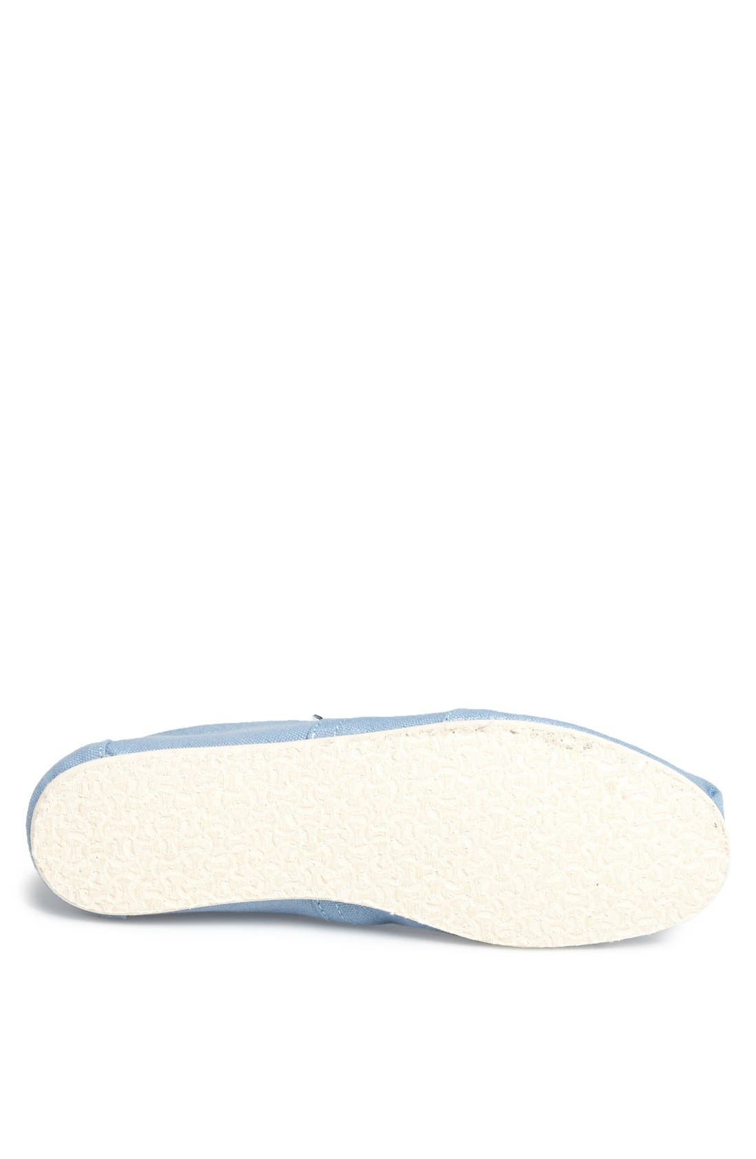 Alternate Image 4  - TOMS 'Classic' Slip-On   (Men)