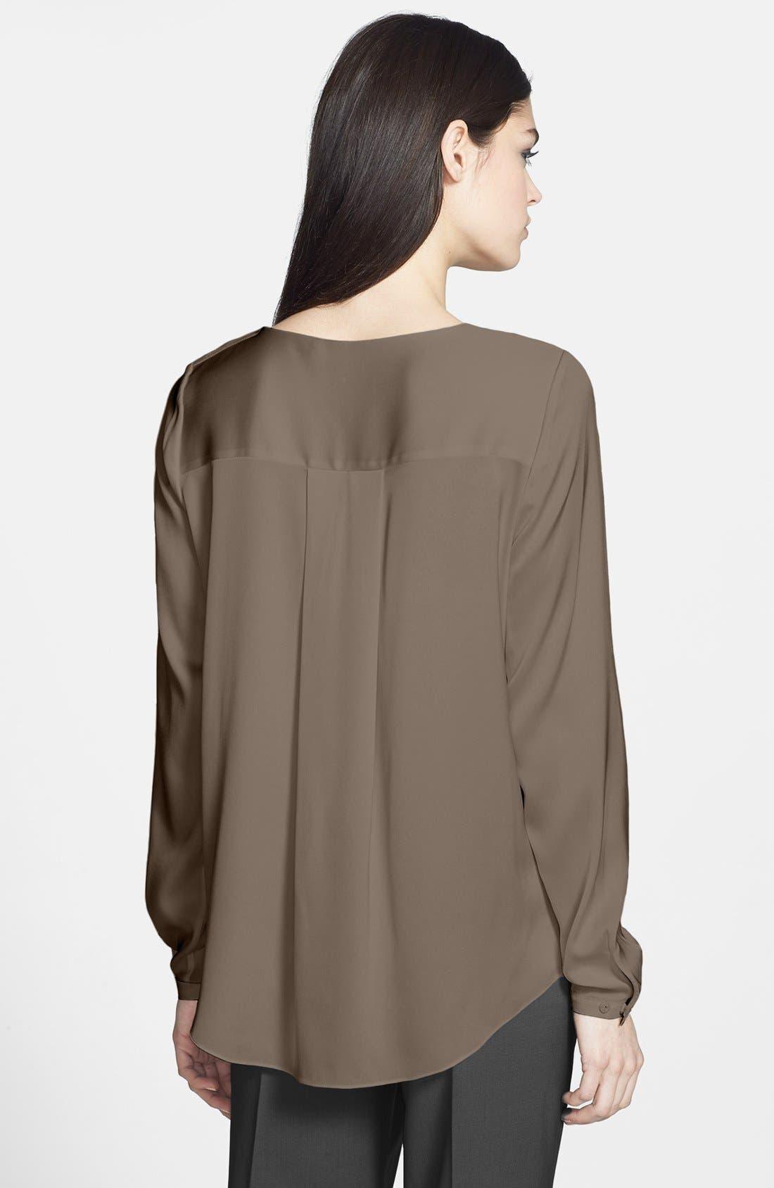 Alternate Image 2  - Elie Tahari 'Kree' Stretch Silk Blouse