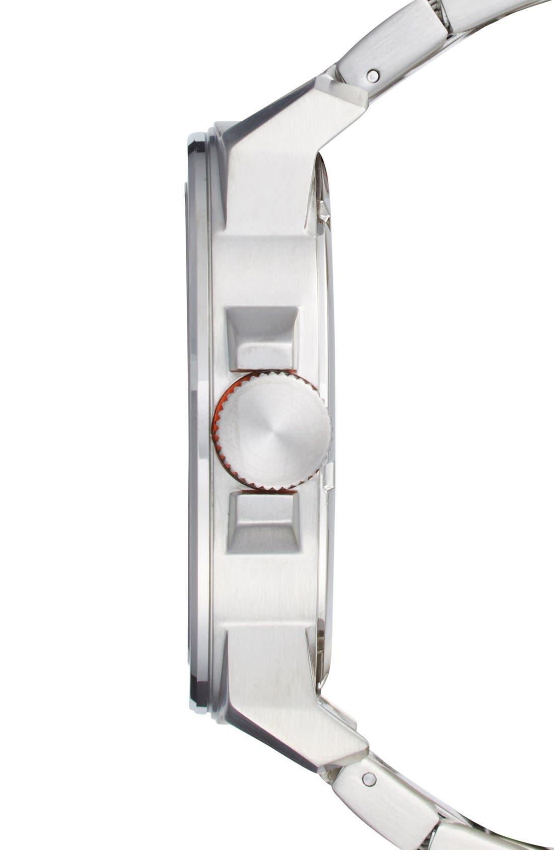 Alternate Image 3  - BOSS Orange Textured Bracelet Watch, 50mm
