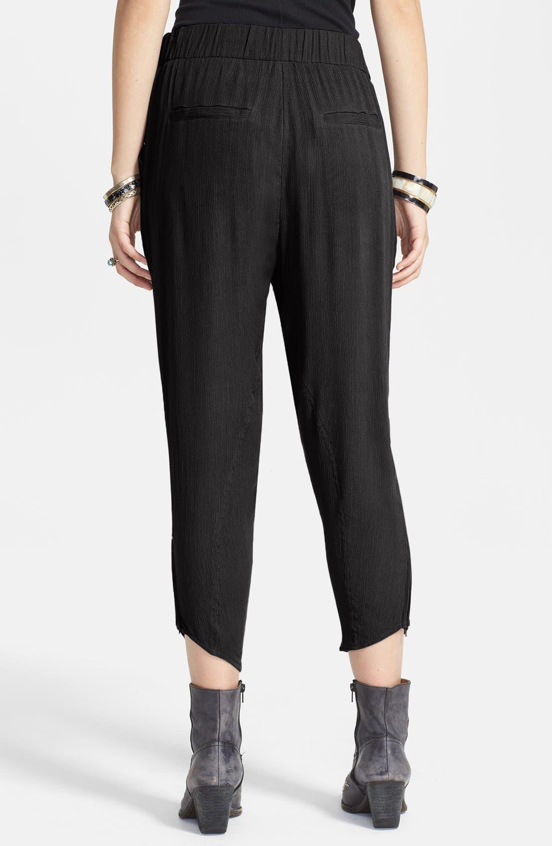 Alternate Image 2  - Free People Twist Front Textured Pants