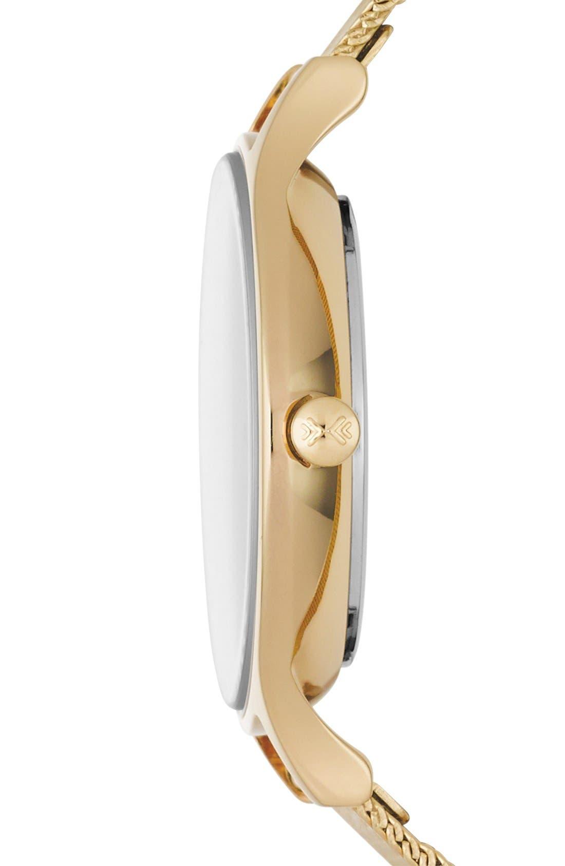 Alternate Image 3  - Skagen 'Anita' Crystal Index Mesh Strap Watch, 30mm