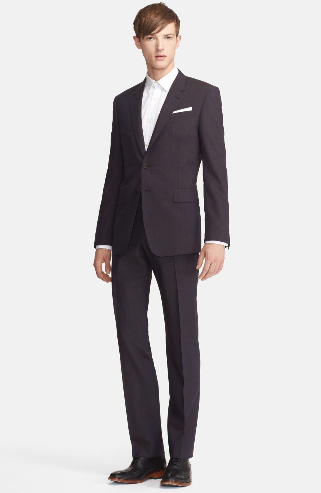 Alternate Image 1 Selected - Paul Smith London 'Byard' Mélange Wool Blend Suit