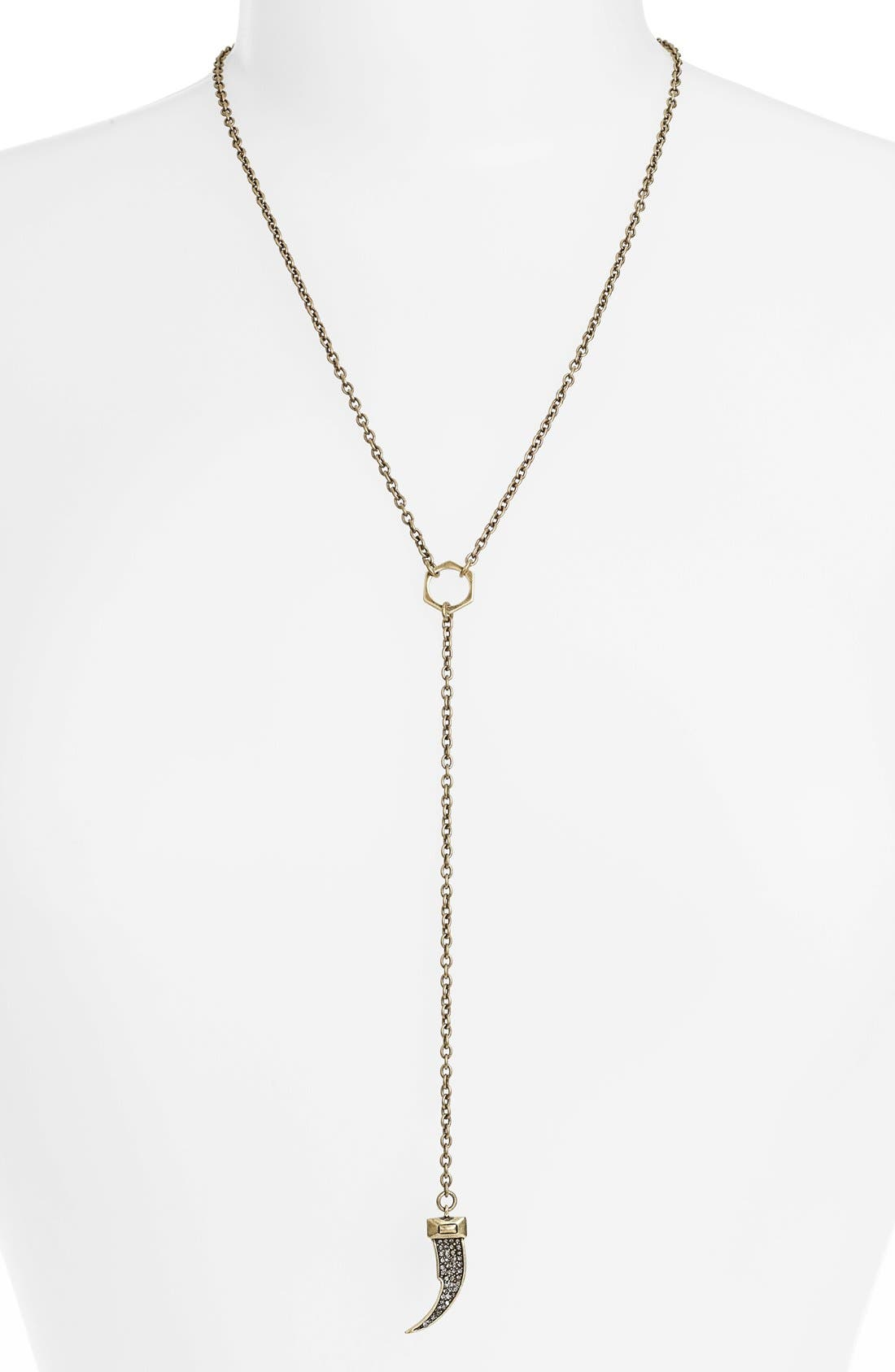 Alternate Image 1 Selected - Rebecca Minkoff Y-Necklace