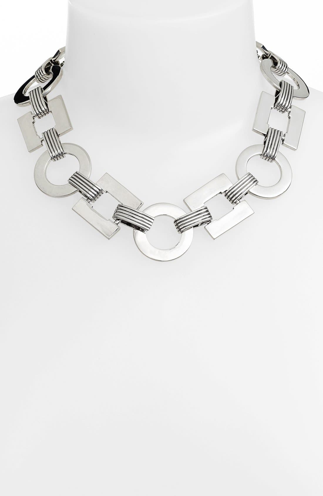 Alternate Image 1 Selected - Lauren Ralph Lauren Textured Collar Necklace