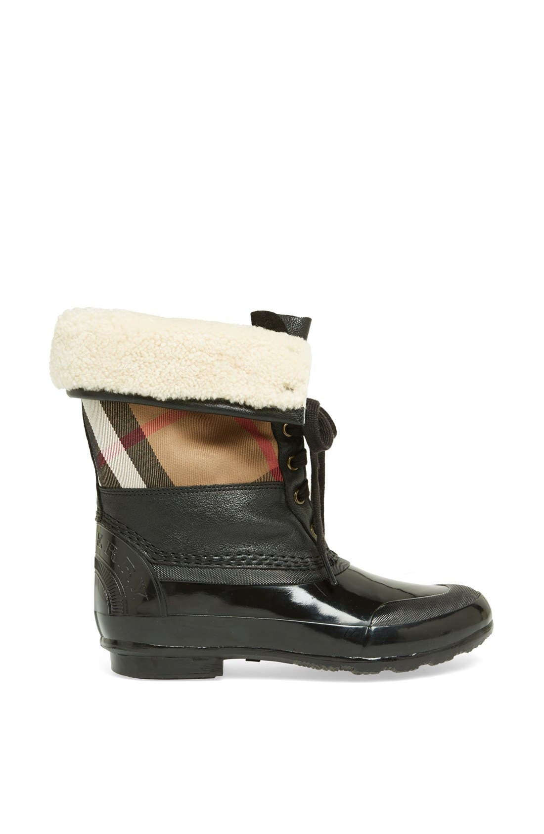 Alternate Image 4  - Burberry 'Danning' Waterproof Bootie