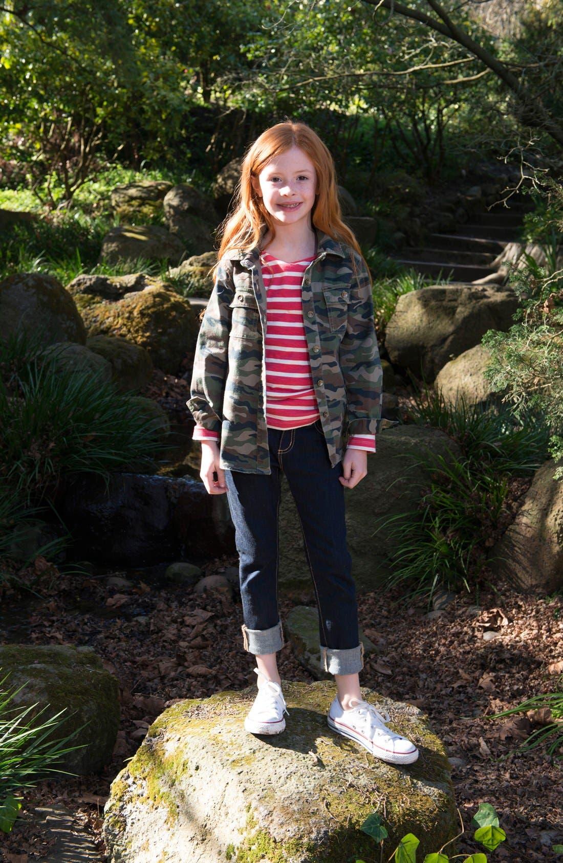 Alternate Image 3  - Peek 'Alabama' Camo Jacket (Toddler Girls, Little Girls & Big Girls)