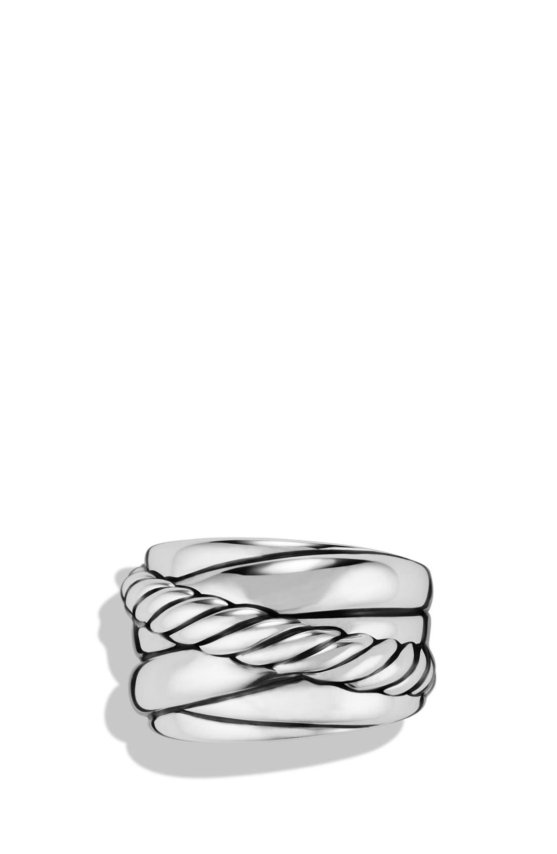 Alternate Image 3  - David Yurman 'Crossover' Wide Ring