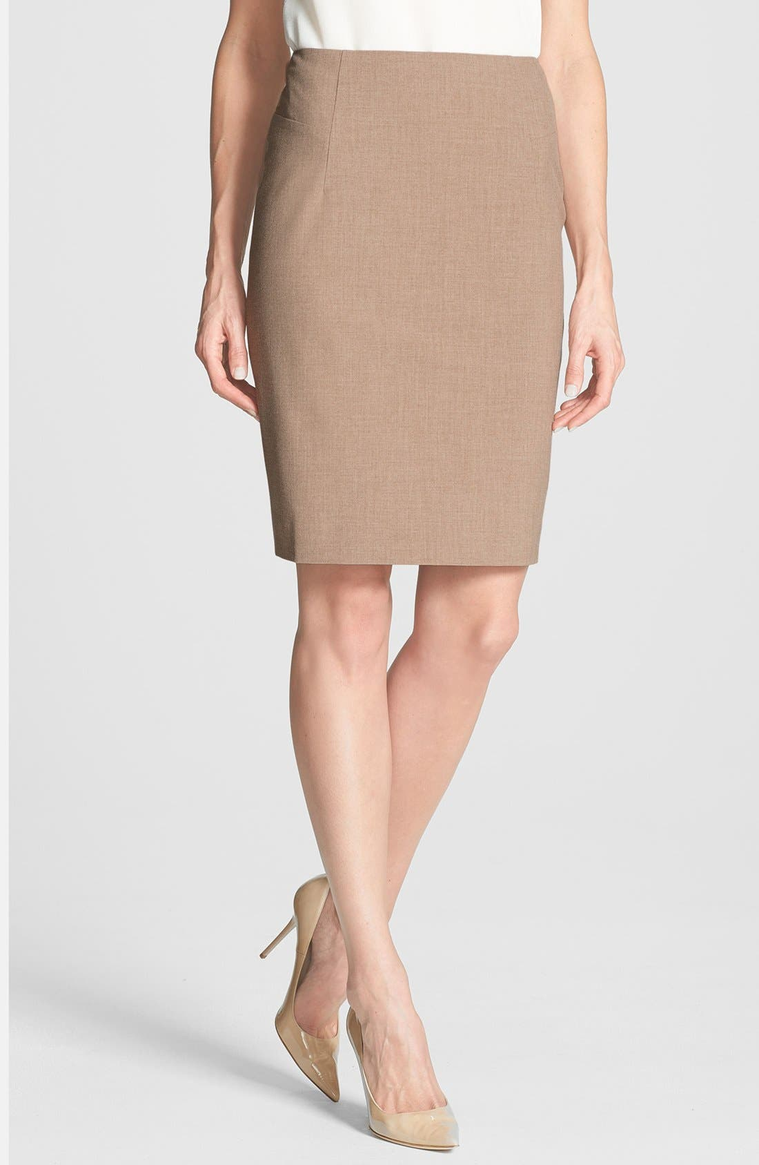 Alternate Image 1 Selected - Halogen® Pencil Skirt