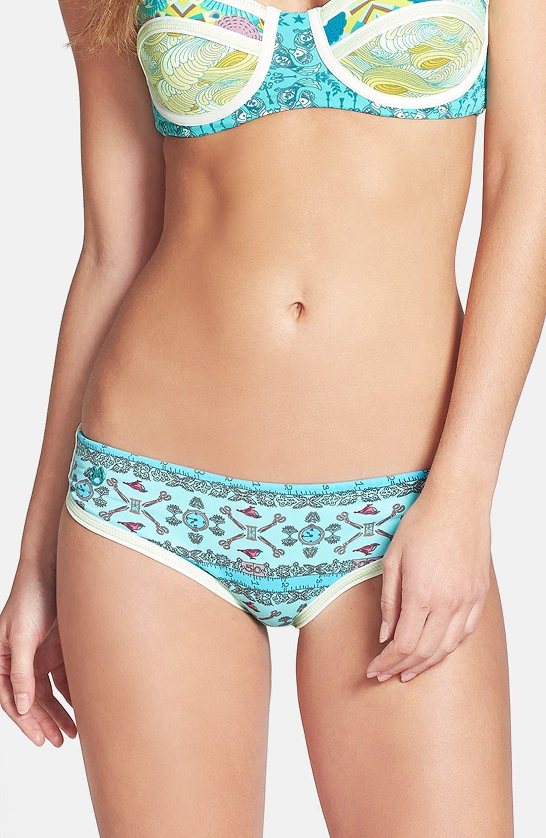 Main Image - Maaji 'Wandering Citrus' Reversible Bikini Bottoms