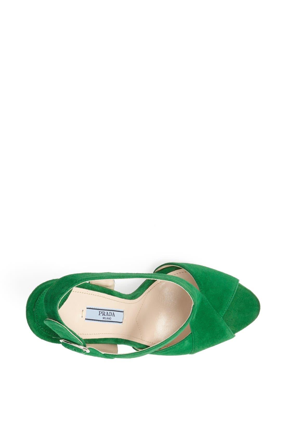 Alternate Image 3  - Prada 'Hourglass' Slingback Sandal