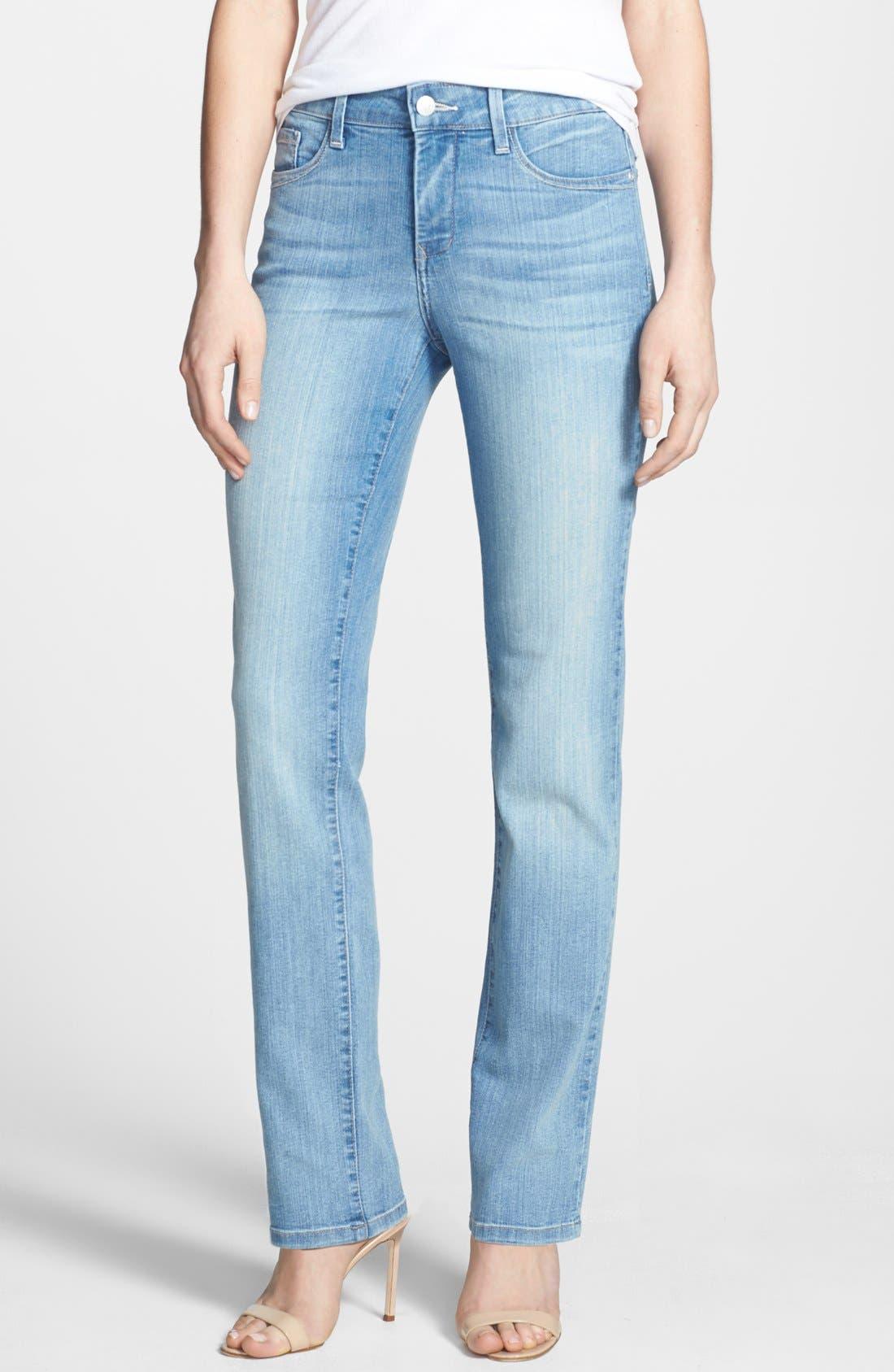 Alternate Image 1 Selected - NYDJ 'Sheri' Stretch Skinny Jeans (Manhattan Beach)