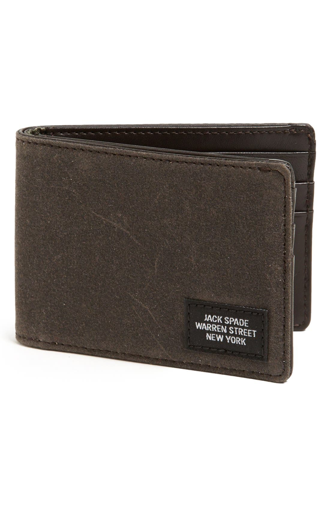 Alternate Image 1 Selected - Jack Spade 'Waxwear' Wallet
