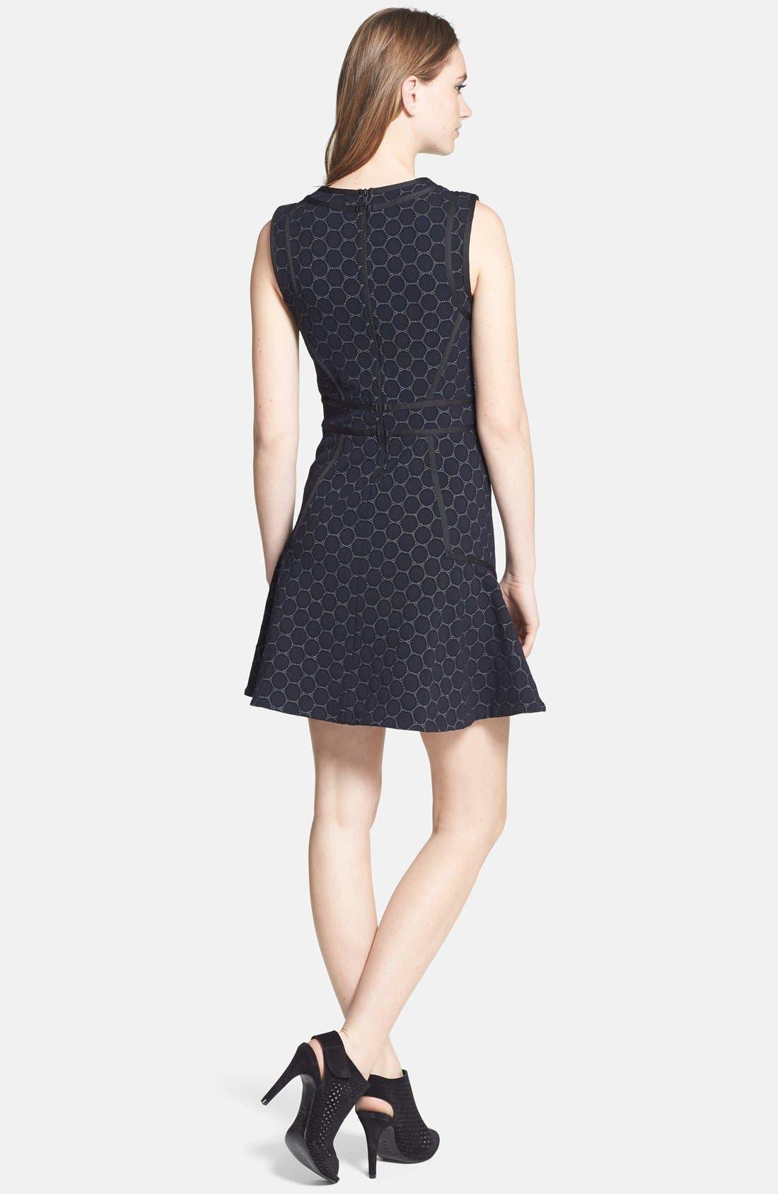 Alternate Image 2  - MARC BY MARC JACOBS 'Leyna Dotty' Ponte Shift Dress