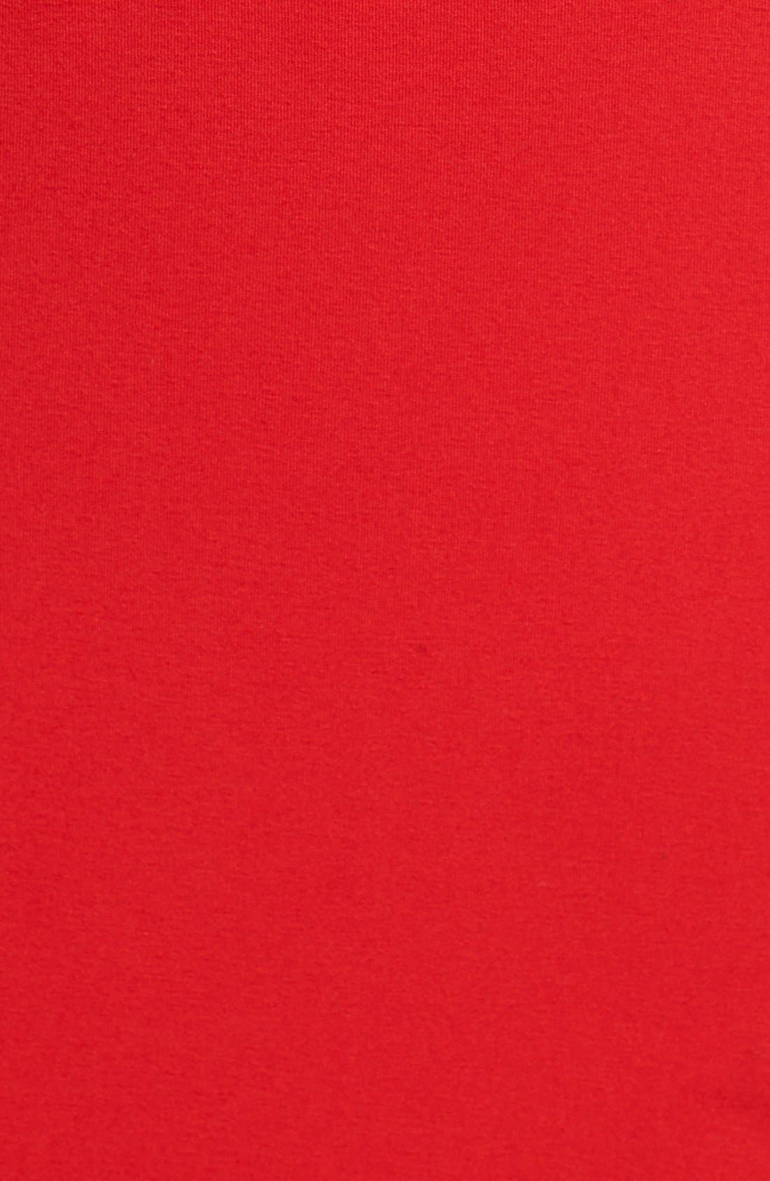 Alternate Image 3  - Vince Camuto Mesh Insert Maxi Dress