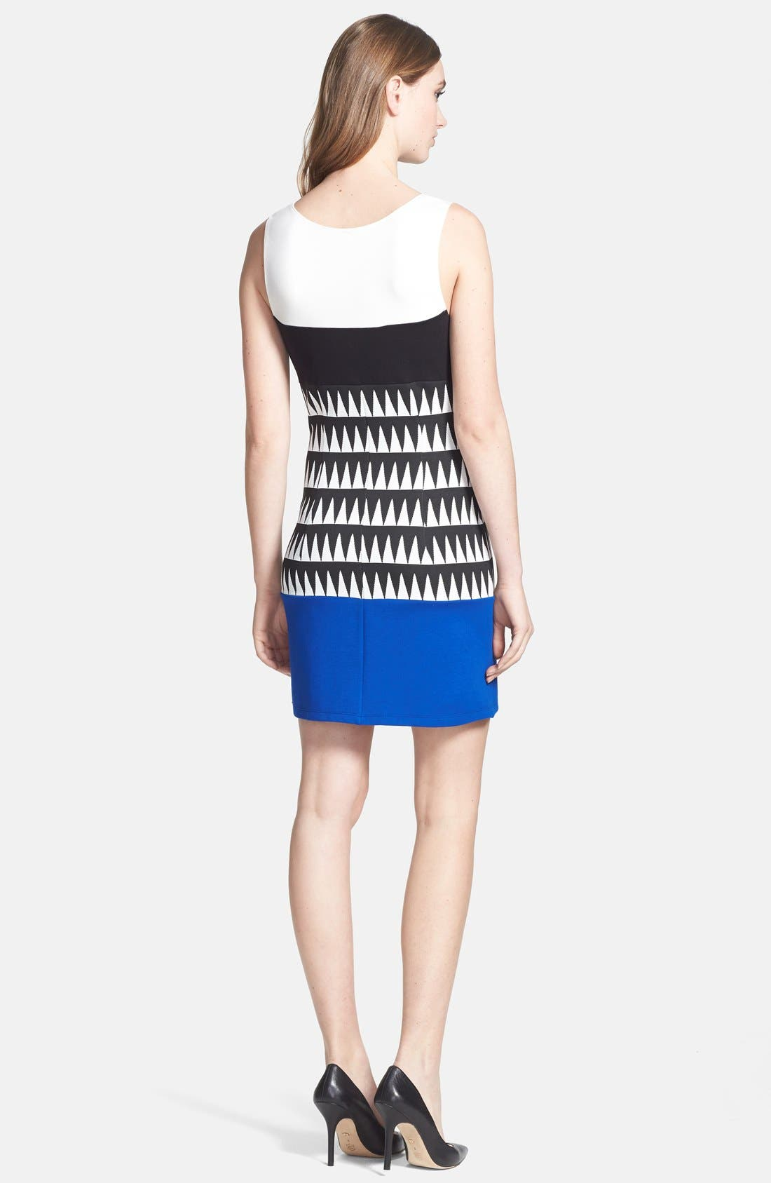 Alternate Image 2  - Bailey 44 'Reggae' Colorblock Sheath Dress