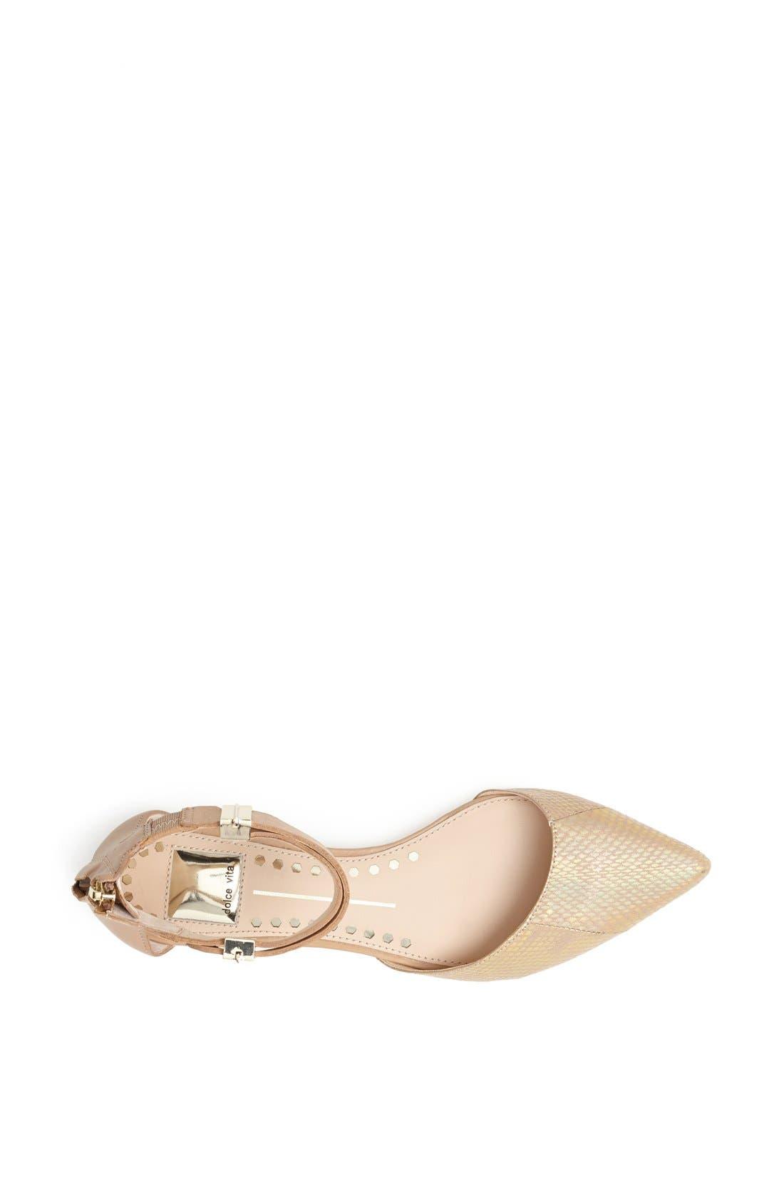 Alternate Image 3  - Dolce Vita 'Agusta' Ankle Strap d'Orsay Flat