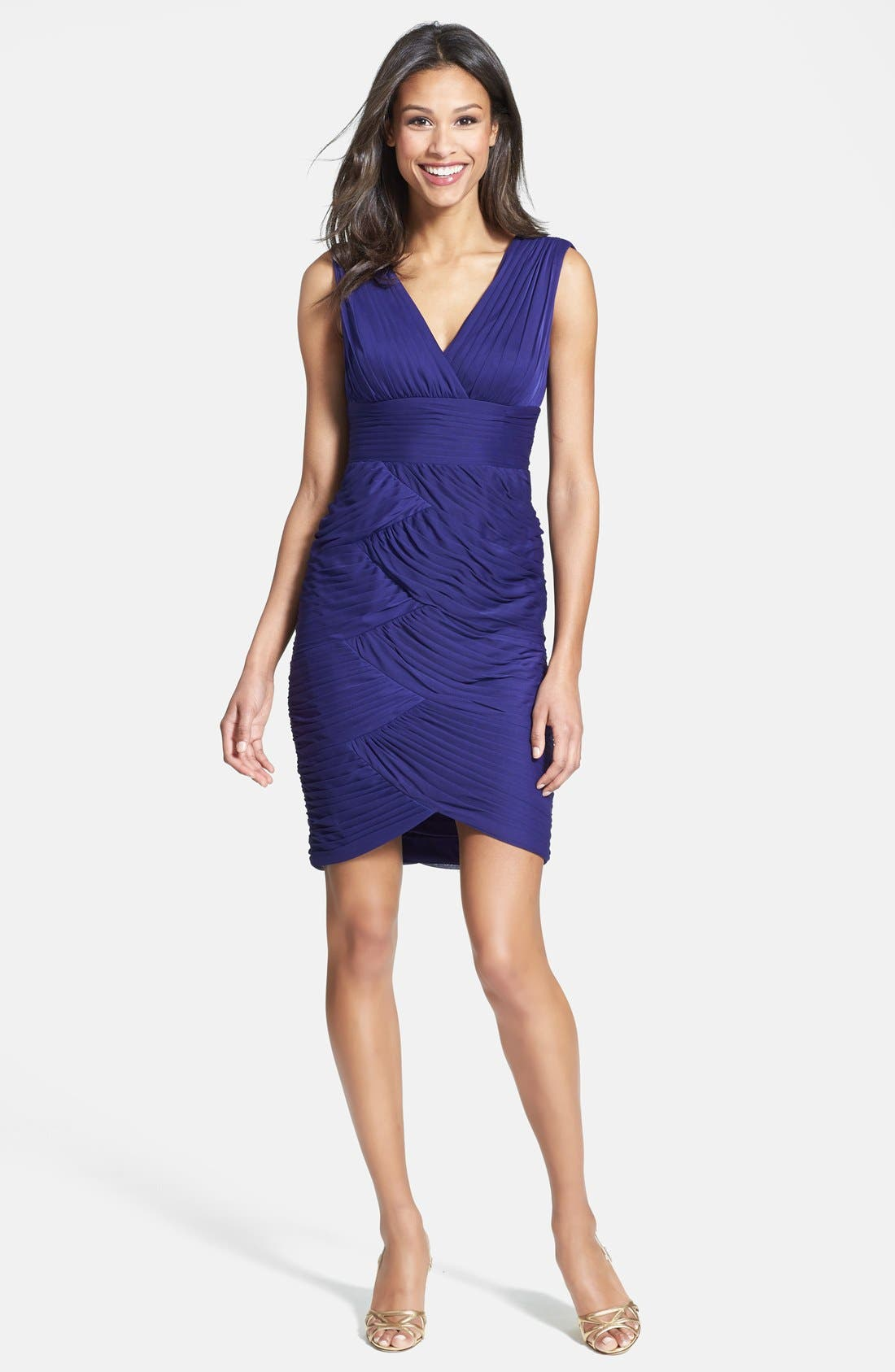 Alternate Image 2  - Adrianna Papell Sleeveless Dress