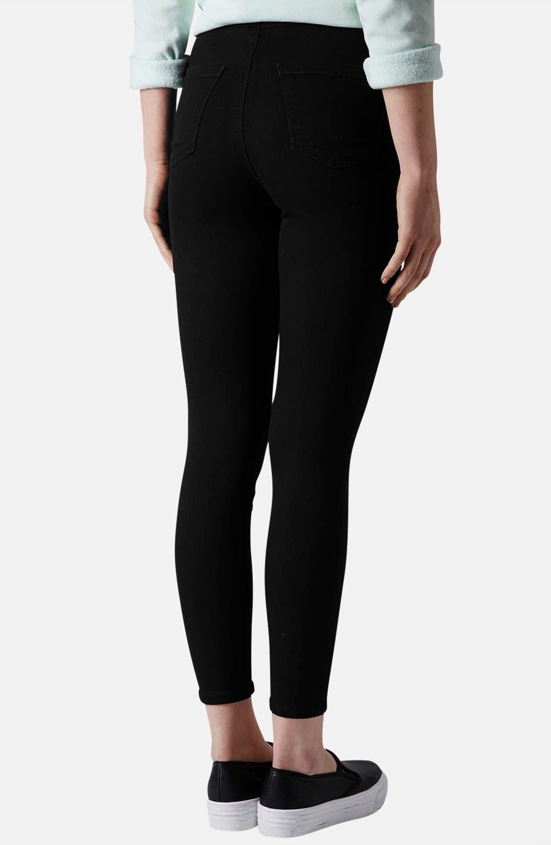 Alternate Image 2  - Topshop Moto 'Joni' High Rise Skinny Jeans (Petite)