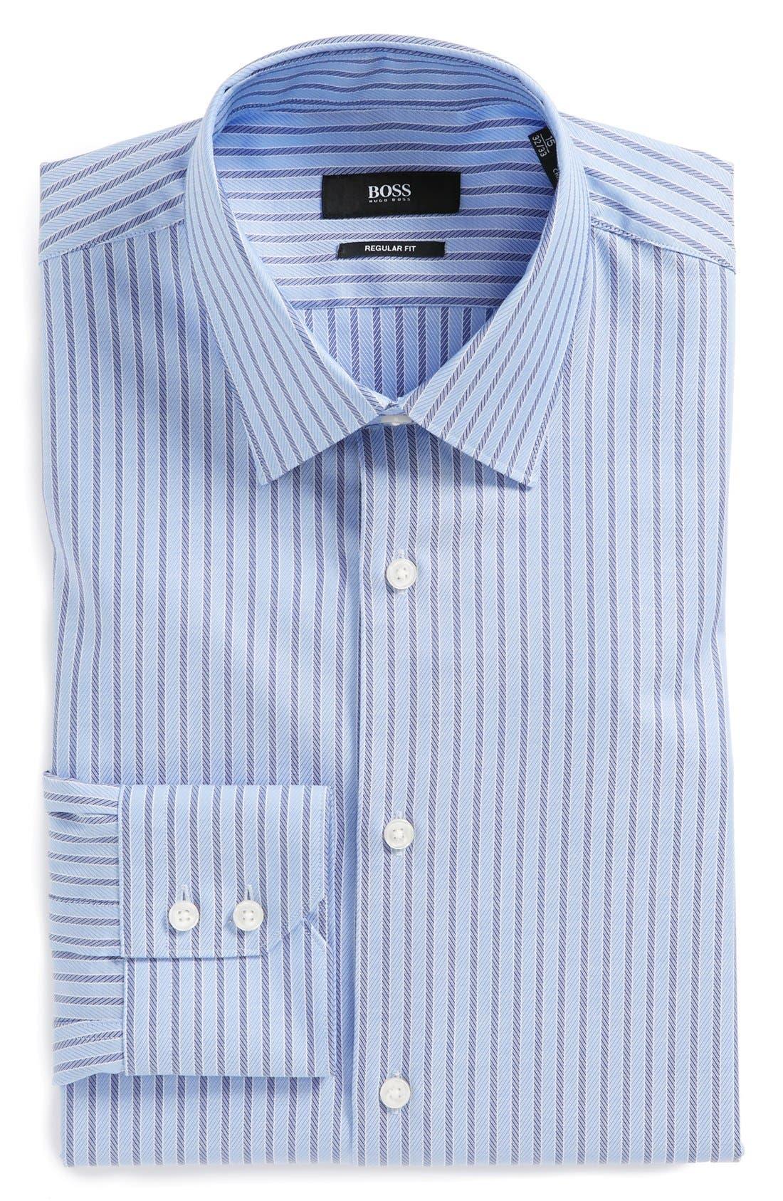 Alternate Image 1 Selected - BOSS HUGO BOSS 'Gulio' US Regular Fit Dress Shirt