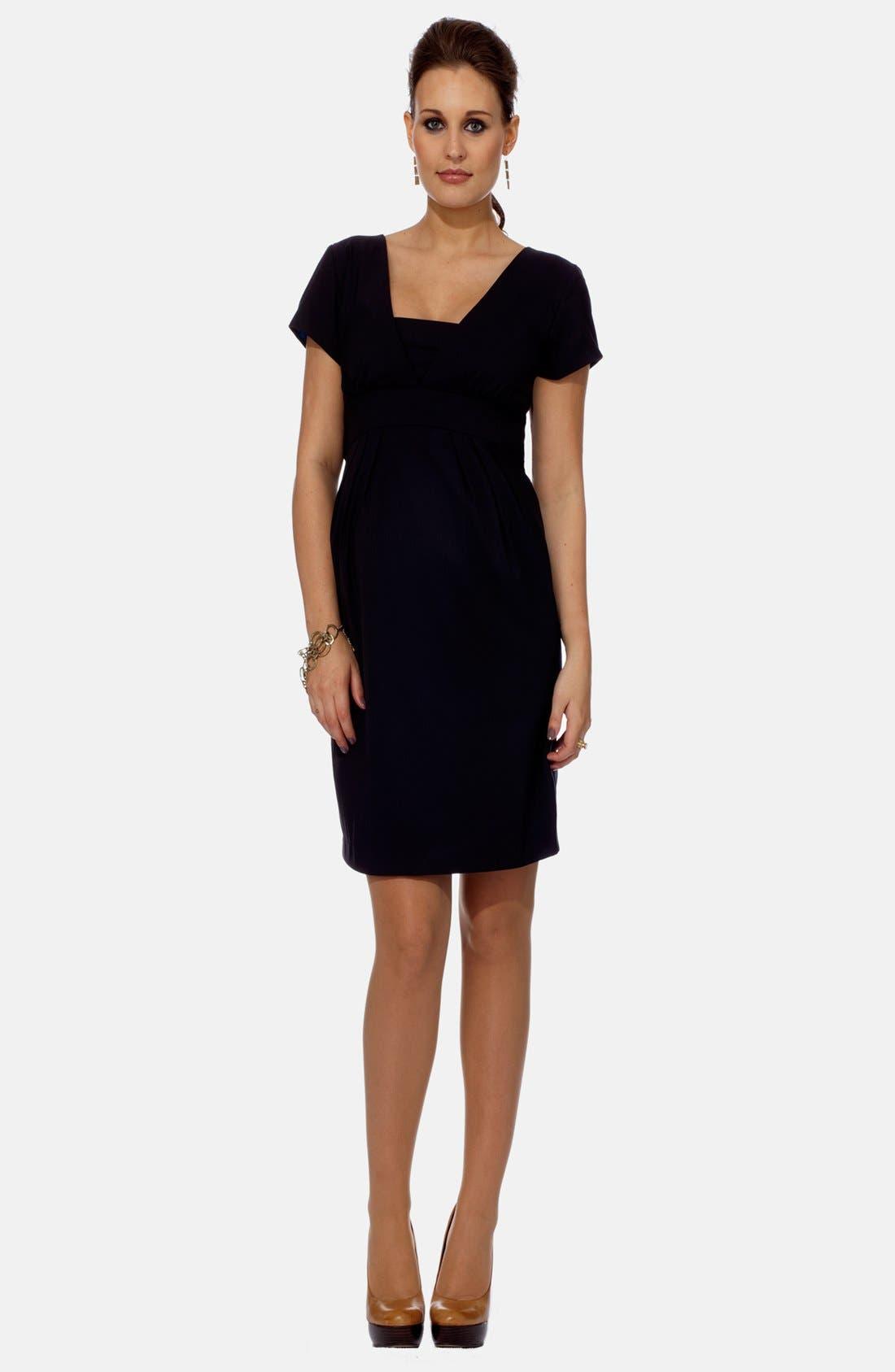Eva Alexander London Tailored Maternity Dress
