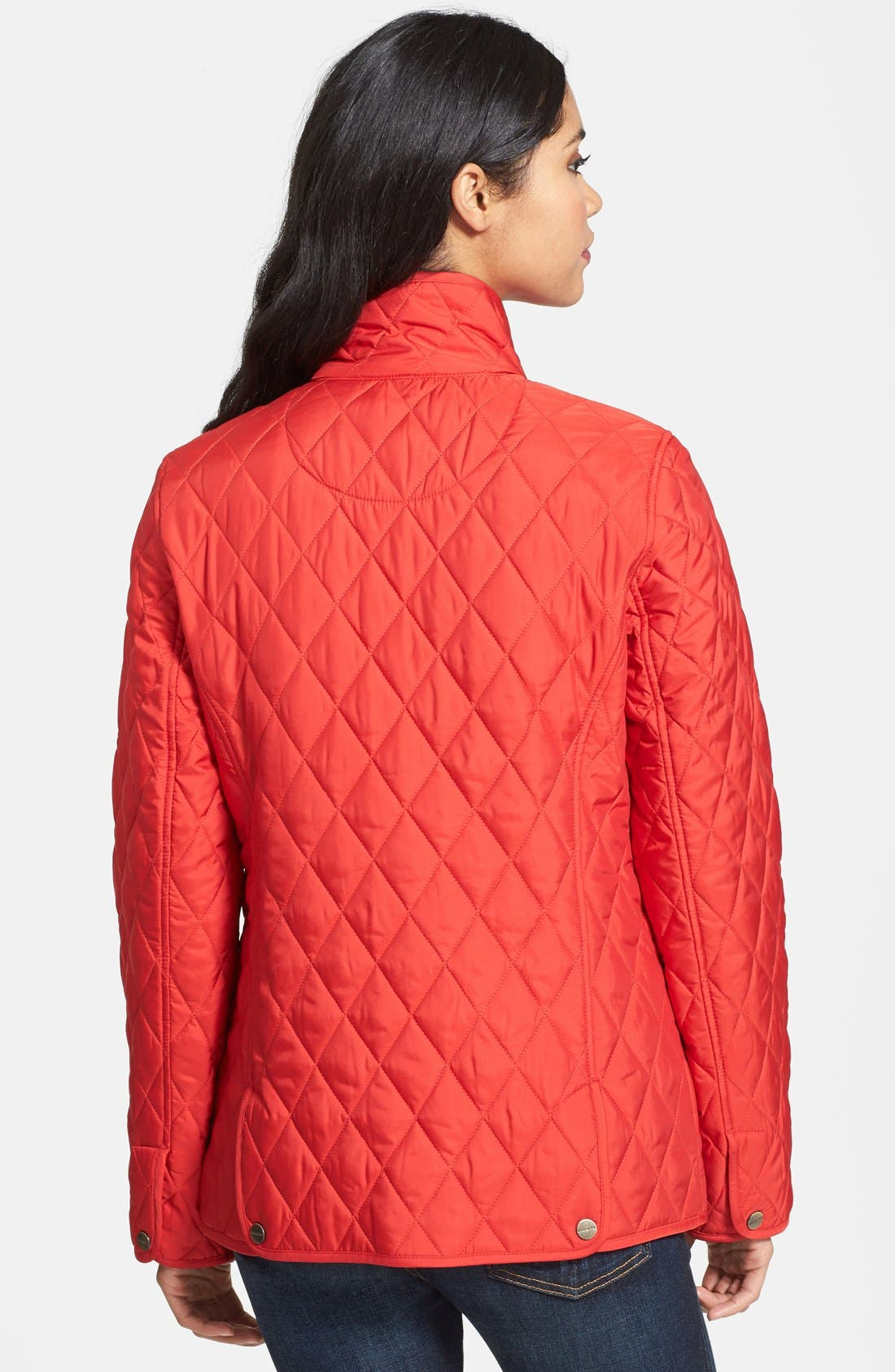 Alternate Image 2  - London Fog Four-Pocket Quilted Jacket