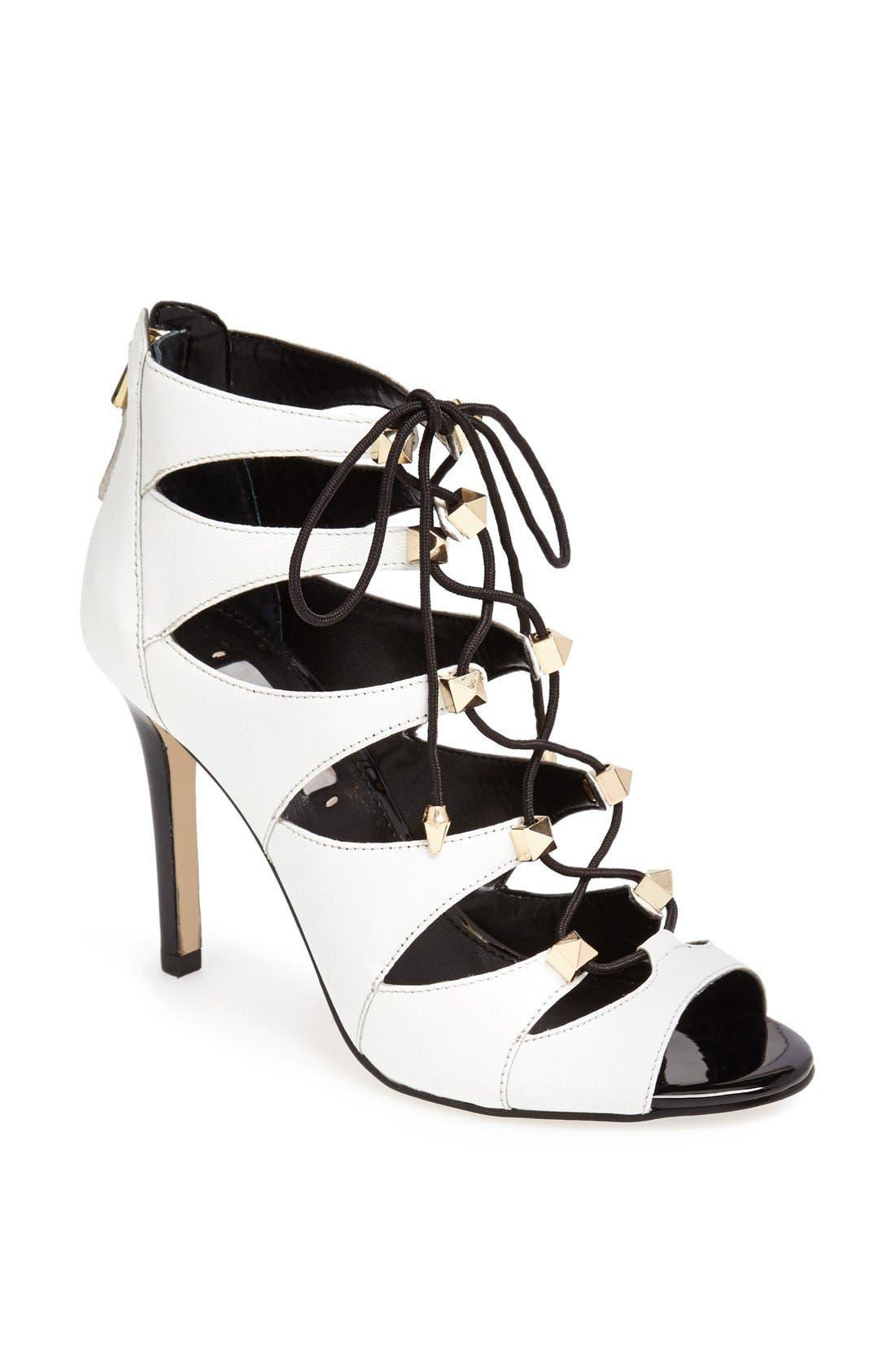 Main Image - GUESS 'Legari' Lace-Up Sandal