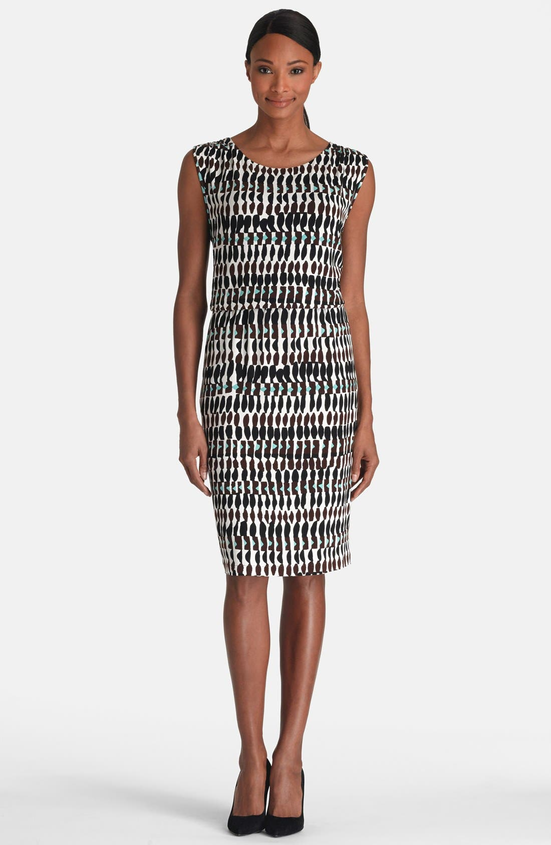 Main Image - Lafayette 148 New York Crossover Back Dress