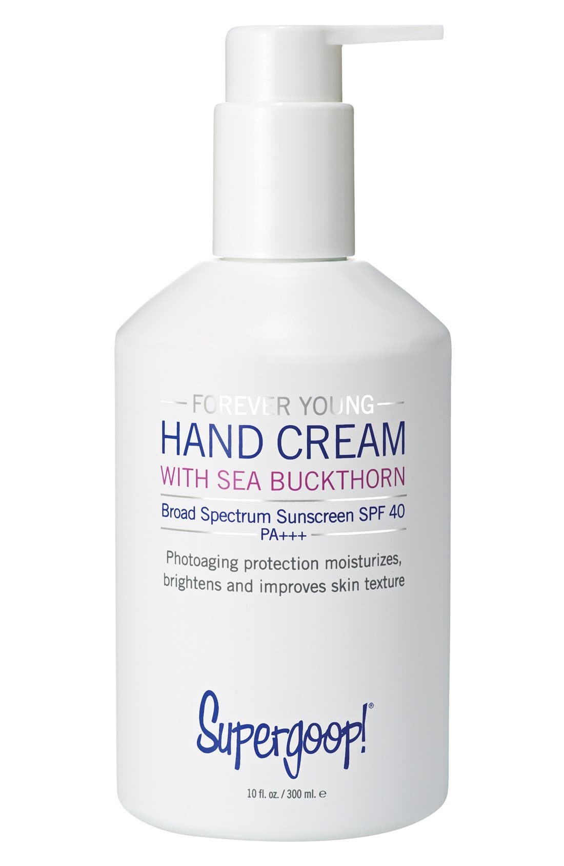 Supergoop! Forever Young Hand Cream with Sea Buckthorn Broad Spectrum SPF 40