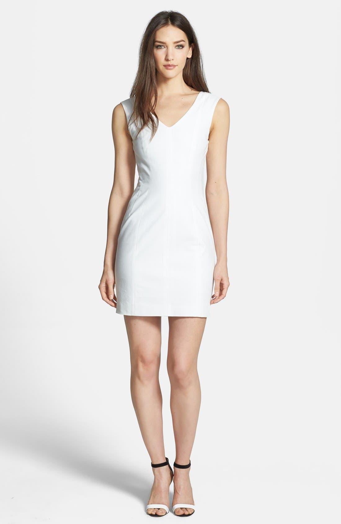 Main Image - Theory 'Molana' Crepe Sheath Dress