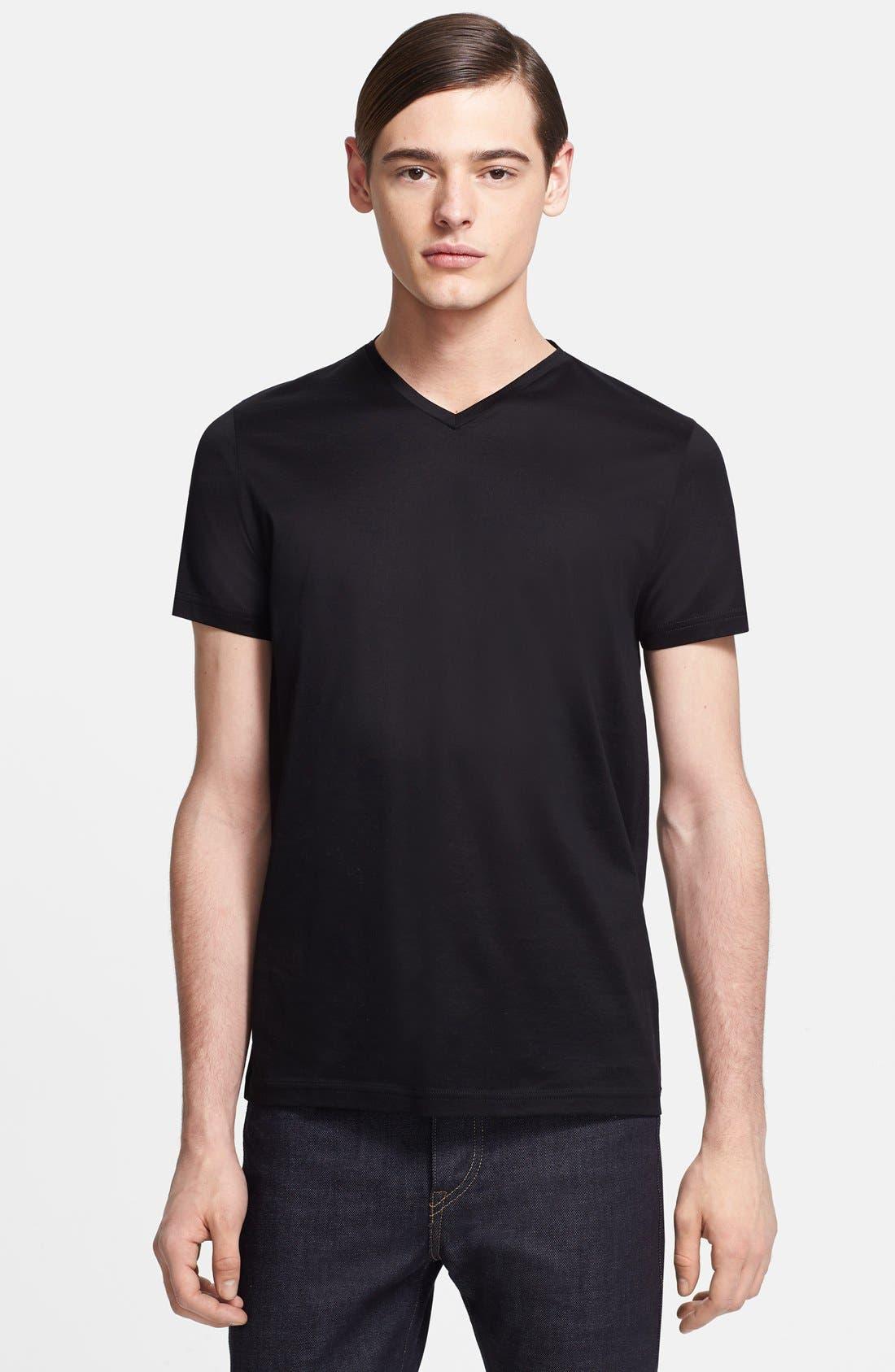 Alternate Image 1 Selected - Jil Sander V-Neck T-Shirt